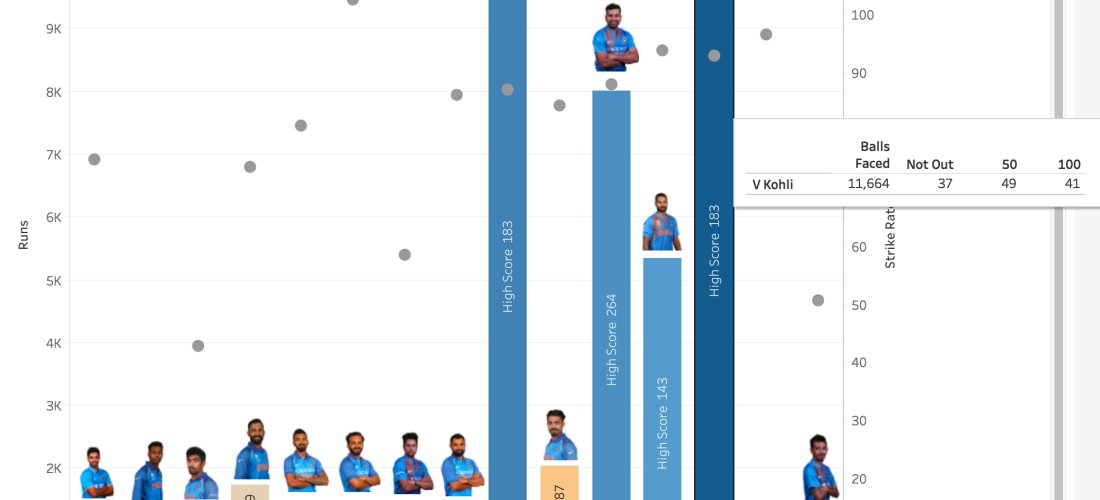 Weekly viz (1 1) India – World-cup 2019 Squad Statistical